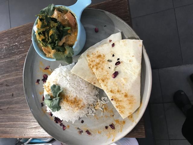 Vegan vegetable curry