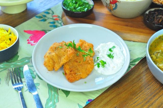 Crispy batter fried fish