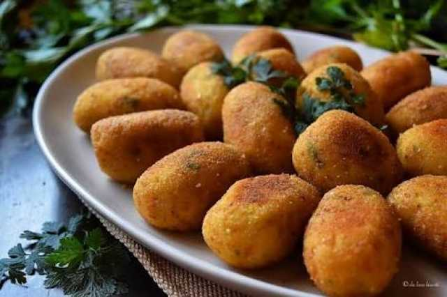 Italian potato croquettes