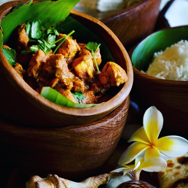 Bula fijian chicken curry